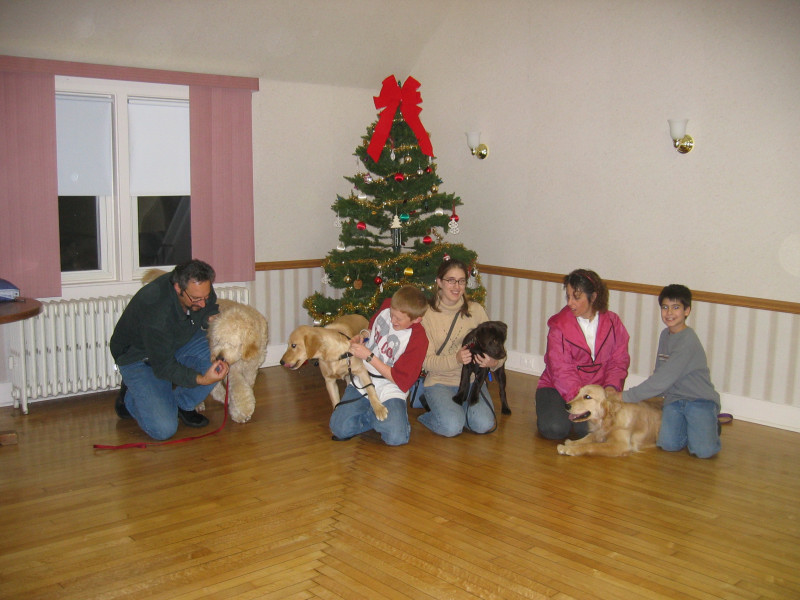 Briarcliff Fall 2004, group dog training class